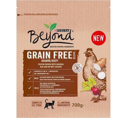 Pinso Beyond gat Grain Free pollastre 700g 1