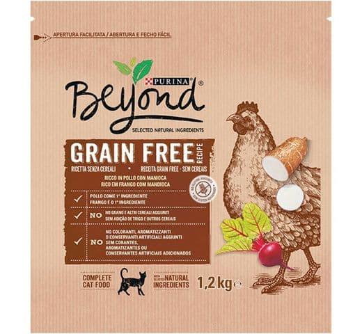 Pinso Beyond gat Grain Free pollastre 1,2kg 1