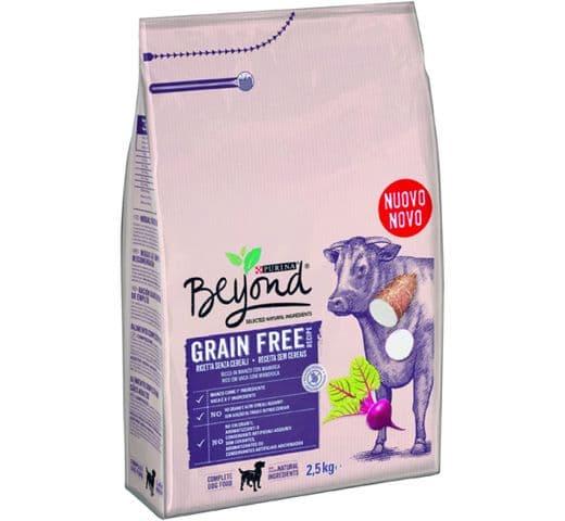 Pinso Beyond gos Grain Free bou 1,2kg 1