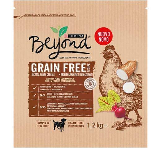 Pinso Beyond gos Grain Free pollastre 1,2kg 1