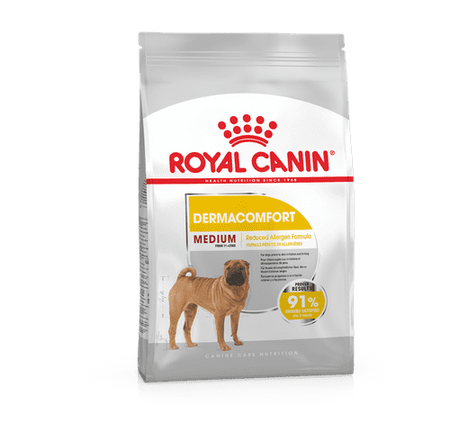 Pinso Royal Canin gos medium dermacomfort 1