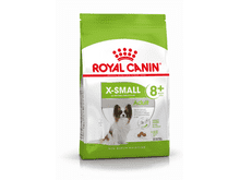 Pinso Royal Canin gos x-small adult +8