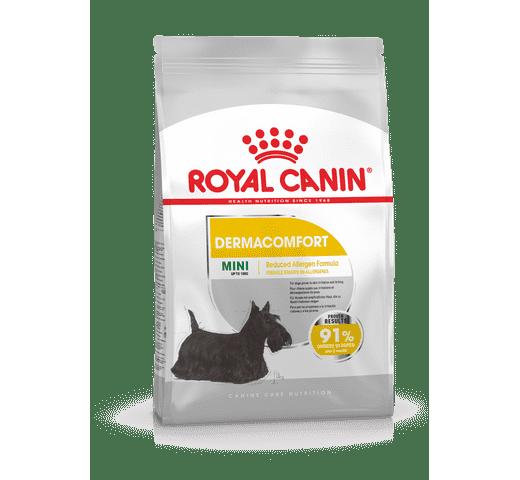 Pinso Royal Canin gos mini dermacomfort 1