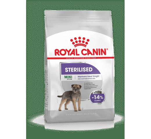 Pinso Royal Canin gos mini sterilised 3kg 1