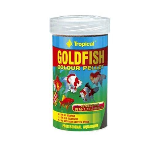 Pinso Tropical Goldfish color pellet 1