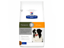 Pinso de dieta veterinària Hills gos metabolic i urinary pollastre