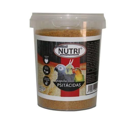 Pasta de cria i papilla Nutri+ papilla gourmet per psitàcides 280gr 1
