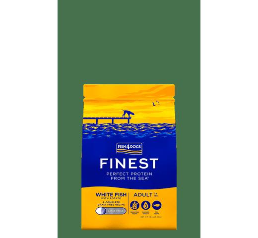 Pinso Fish4dogs gos peix blanc 1,5kg 1