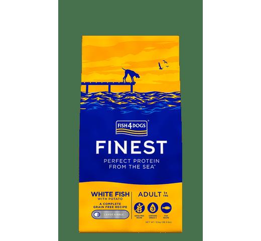 Pinso Fish4dogs gos peix blanc 12kg 1