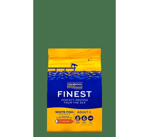 Pinso Fish4dogs gos petit peix blanc 1,5kg 1