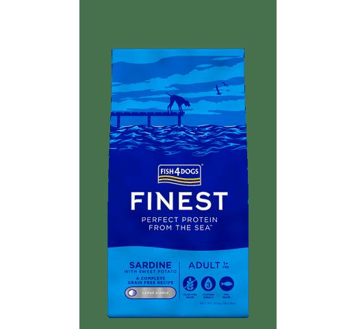 Pinso Fish4dogs gos sardina 12kg 1