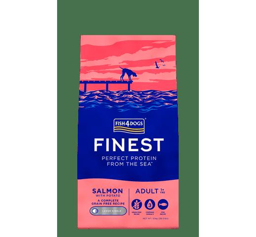 Pinso Fish4dogs gos salmó 12kg 1