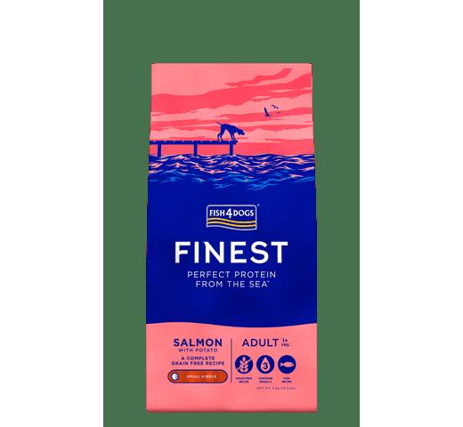 Pinso Fish4dogs gos petit salmó 6kg 1