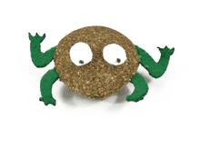 Altres joguines Nayeco granota catnip 5,2cm