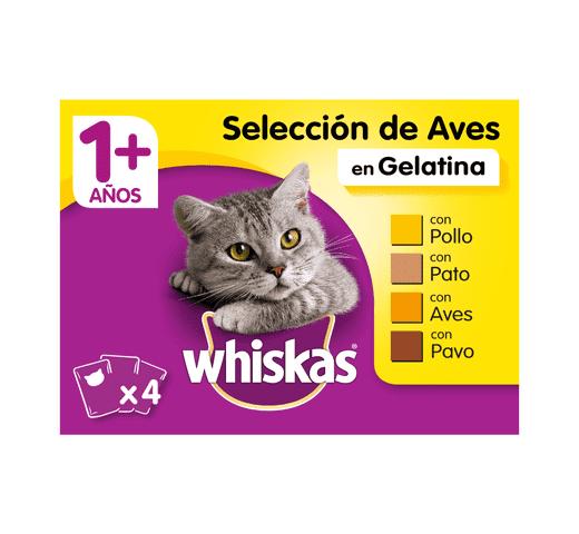 Aliment humit Whiskas gat selezione aus 4x100gr 1