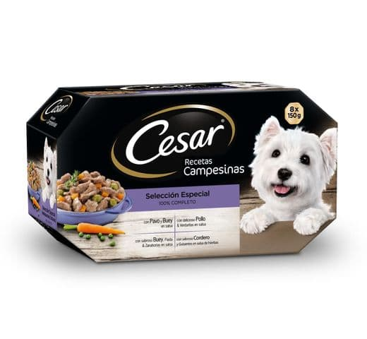 "Aliment humit Cesar ""salsa campesina"" terrines (8+4)x150gr 1"