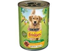 Aliment humit Friskies Purina gos adult  bou/pollastre llauna 800gr