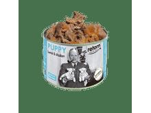 Aliment humit Retorn gos puppy llauna xai i pollastre 185gr