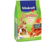 Barretes Vitakraft bastonets de pastanaga per hamsters 50gr