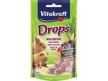 Altres Vitakraft conill drops de fruita 75gr