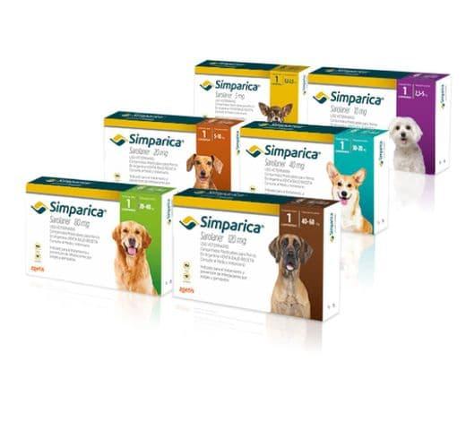 Simparica gos 3 comprimits Zoetis 1