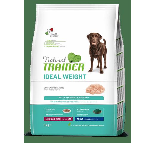 Pinso Natural Trainer gos medium maxi weight care 1
