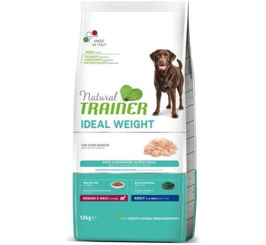 Pinso Natural Trainer gos medium maxi weight care 3kg 1