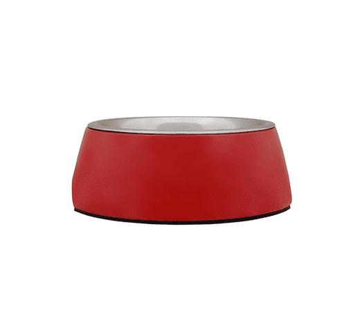 Menjadora Freedog melamina inox vermell 1