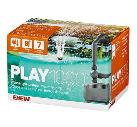 Bomba Eheim d'estany Play 1000 per fonts i filtres 1