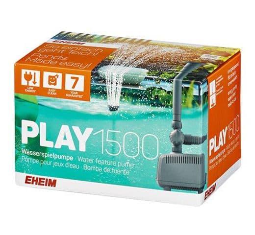 Bomba Eheim d'estany Play 1500 per fonts i filtres 1