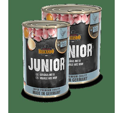 Aliment humit Belcando junior au amb ous 1