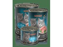 Aliment humit Leonardo kitten au llauna