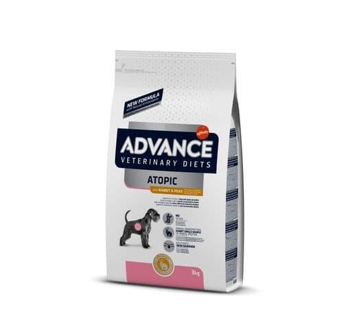 Pinso de dieta veterinària Advance Affinity gos atopic conill 1