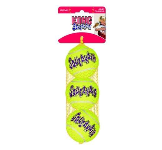 Joguina tenis Kong air tennis ball M (3ut) 1