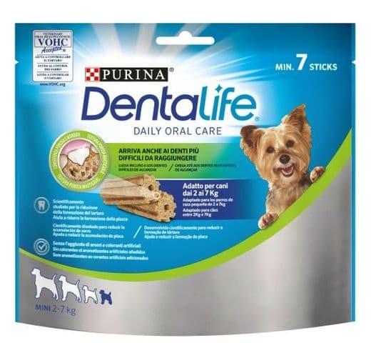 Snack dental Friskies Purina gos mini Dentalife 1