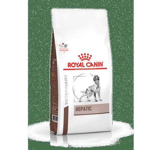Pinso de dieta veterinària Royal Canin gos hepatic 1