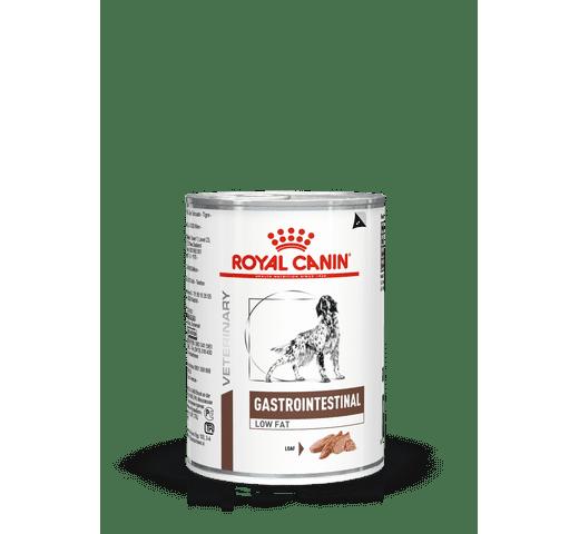 Dieta veterinària en humit Royal Canin gos gastrointestinal low fat llauna 410gr 1