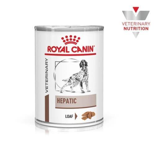 Dieta veterinària en humit Royal Canin gos hepatic llauna 420gr 1
