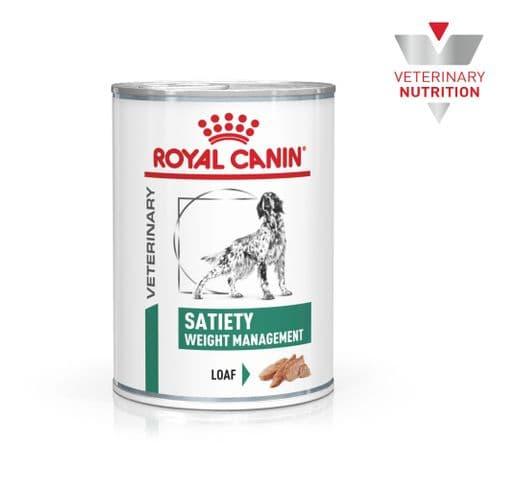 Dieta veterinària en humit Royal Canin gos satiety llauna 410gr 1