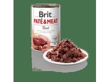 Aliment humit Brit Dog pate & meat vedella