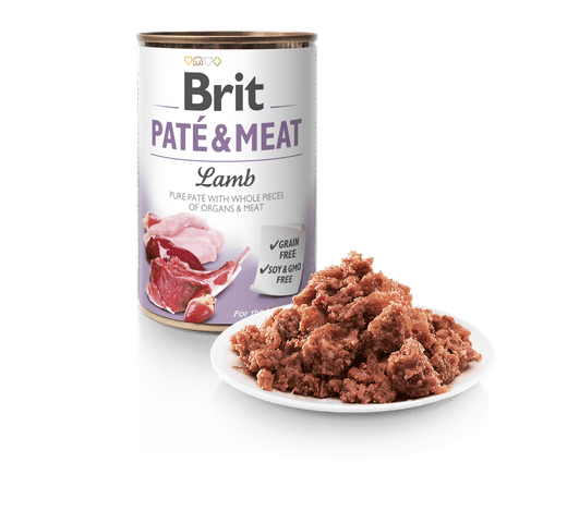 Aliment humit Brit Dog pate & meat xai 400gr 1