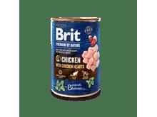 Aliment humit Brit Premium dog nature pollastre