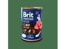 Aliment humit Brit Premium dog nature vedella