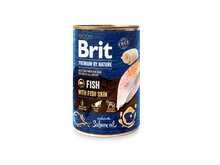Aliment humit Brit Premium dog nature peix