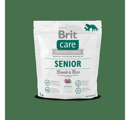 Pinso Brit Care senior xai i arròs 1kg 1
