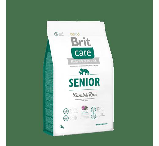 Pinso Brit Care senior xai i arròs 3kg 1