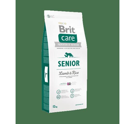 Pinso Brit Care senior xai i arròs 12kg 1