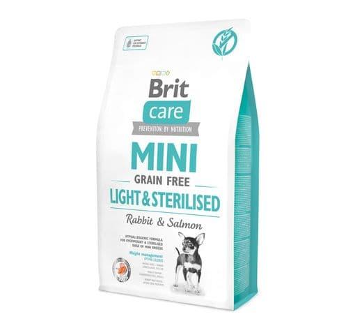 Pinso Brit Care adult mini grain free light sterilised 2kg 1