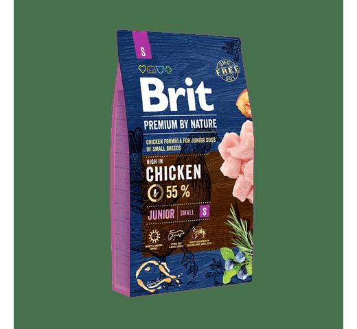 Pinso Brit Premium dog nature junior S 8kg 1