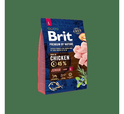 Pinso Brit Premium dog nature junior L 3kg 1